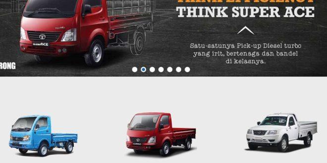 Tata Pickup Diesel Hanya DP 7 Jutaan