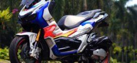 Motor Honda ADV150 Modif Keren Gaya Gundam